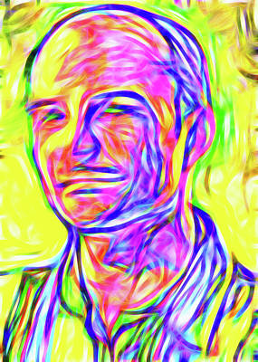 Luminous Body Painting - Man I by Nick Arte