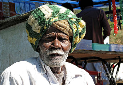 Photograph - Man In A Turban by Ethna Gillespie