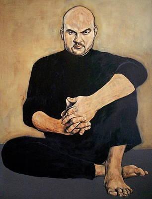 Painting - Man In Black by Jovana Kolic