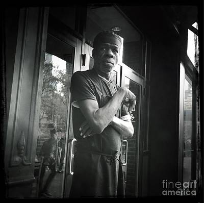 Photograph - Man In New York by Miriam Danar