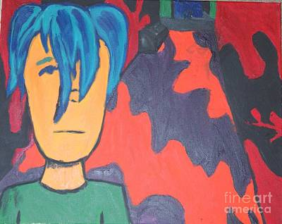 Painting - Man In Strange  by Travis Dosser