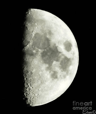 Photograph - Man In The Moon by September  Stone