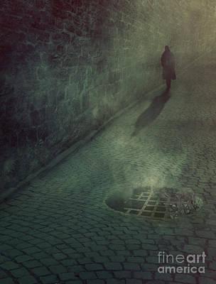 Man In The Night Art Print