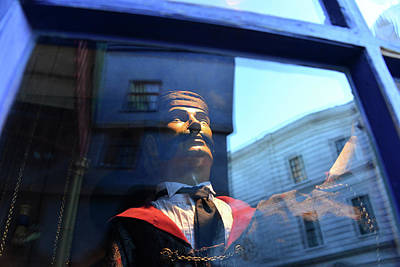 Photograph - Man In The Window by David Lee Thompson