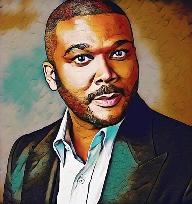 Digital Art - Man Of Many Talents by Karen Showell