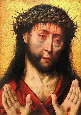 Christian Artwork Painting - Man Of Sorrows by Mountain Dreams