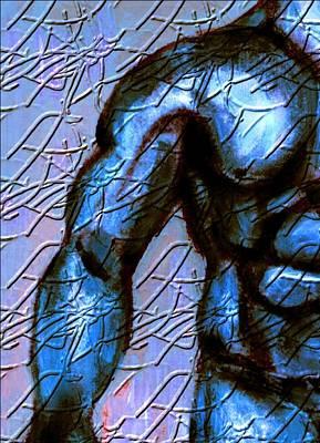 Man Of Steel Art Print by Joseph Ferguson