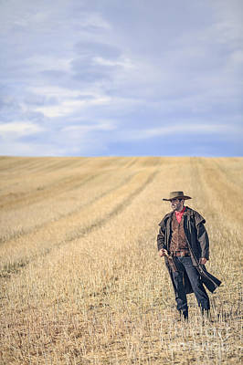 Cowboy Hat Photograph - Man Of The West by Evelina Kremsdorf