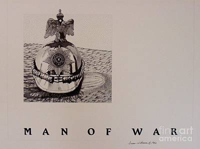 Man Of War Art Print