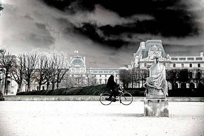 Man On Bike Original