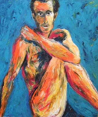 Painting - Man Power by Esther Newman-Cohen