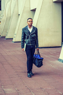 Photograph - Man Urban Casual Fashion 15082355 by Alexander Image