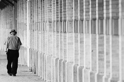 Photograph - Man Walking by Jill Reger