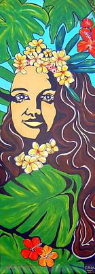 Mana Olana  Means Hope Art Print by Cheryl Ehlers