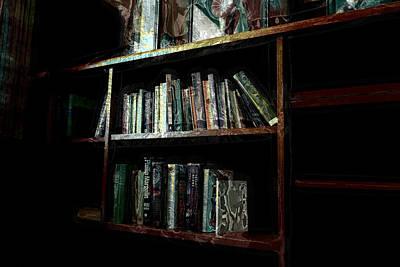 Library Digital Art - Manago Hotel Library by Lori Seaman