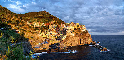 Photograph - Manarola At Dusk by Weston Westmoreland