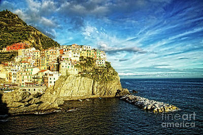 Photograph - Manarola By Sea by Scott Kemper
