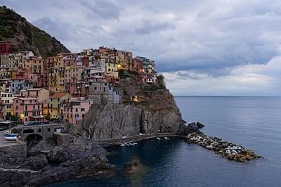 Photograph - Manarola by Stephen Taylor