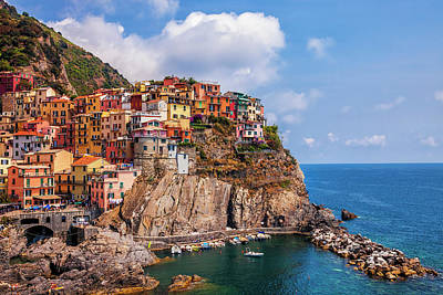 Photograph - Manarola View by Andrew Soundarajan