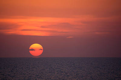 Photograph - Manasota Key Sunset by John Black