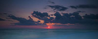 Photograph - Manasota Sunset by Ryan Heffron