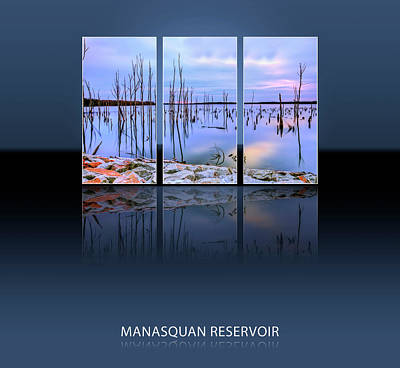 Manasquan Reservior In Howell New Jersey Art Print by Geraldine Scull