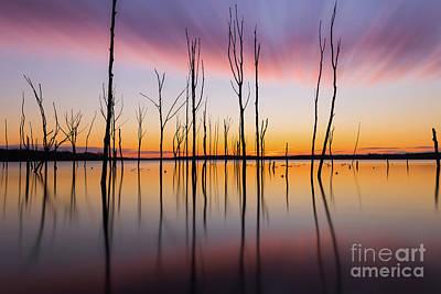 Michael Versprill Photograph - Manasquan Reservoir Long Exposure by Michael Ver Sprill