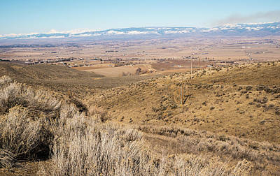 Photograph - Manastash Vista In March by Tom Cochran