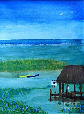Manatee Refuge Part 2 Art Print