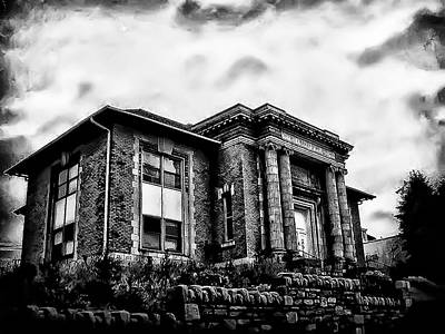 Manayunk Branch Of The Free Library Of Philadelphia Art Print by Bill Cannon