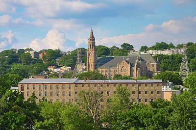 Photograph - Manayunk - St John The Baptist - Scofield Mill - Philadelphia by Bill Cannon