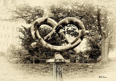 Pretzels Photograph - Manayunks Pretzel Park by Bill Cannon