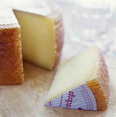 Photograph - Manchego Cheese by David Munns
