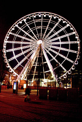 Photograph - Manchester Eye by Doc Braham