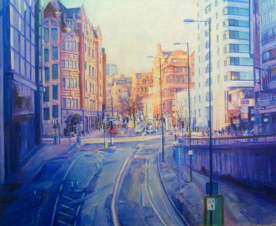 Manchester Light And Shade Art Print