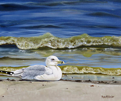 Painting - Manchester Shores by Phyllis Beiser