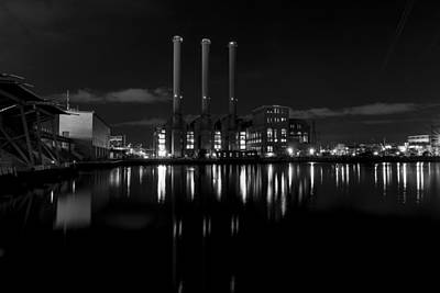 Manchester Street Power Station Art Print