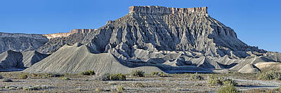 Photograph - Mancos Shale - Geology - Utah by Nikolyn McDonald