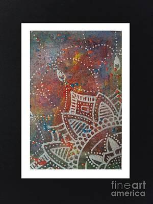 Mandal Painting - Mandal Dantady by Britt Myrli