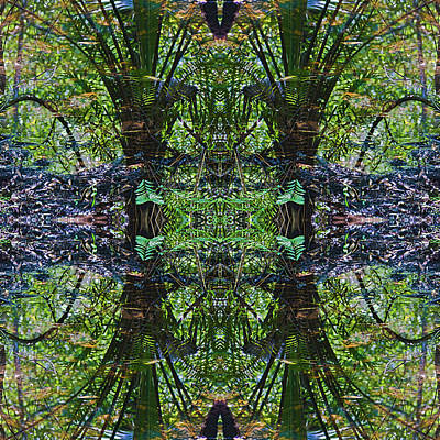 Digital Art - Mandala 02 by Gene Norris