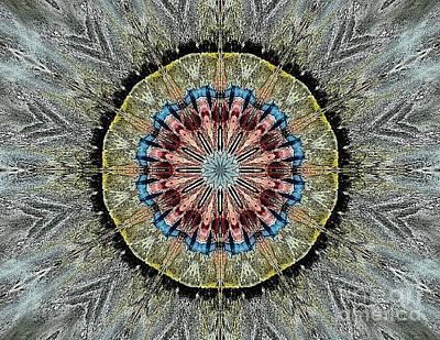 Digital Art - Mandala 1 by 'REA' Gallery