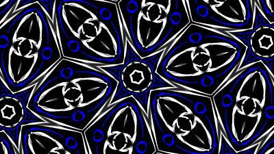 Digital Art - Mandala 10 by Riana Van Staden