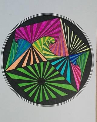 Painting - Mandala 12 by Jesus Nicolas Castanon