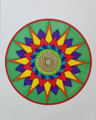 Painting - Mandala 13 by Jesus Nicolas Castanon