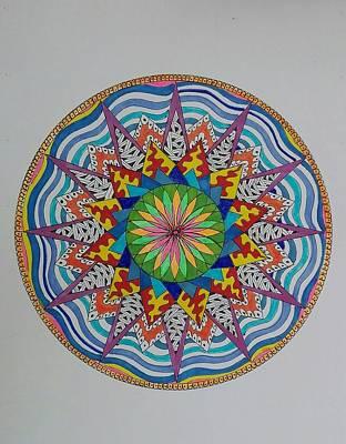 Painting - Mandala 14 by Jesus Nicolas Castanon
