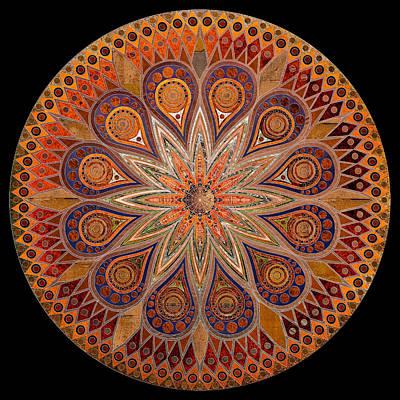 Repeat Digital Art - Mandala 14 by Terry Davis