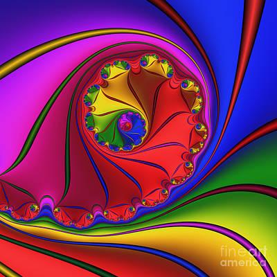 Mandala 156 Art Print by Rolf Bertram