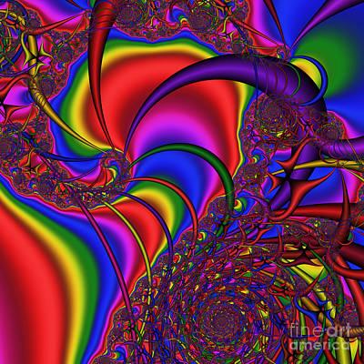 Mandala 164 Art Print by Rolf Bertram