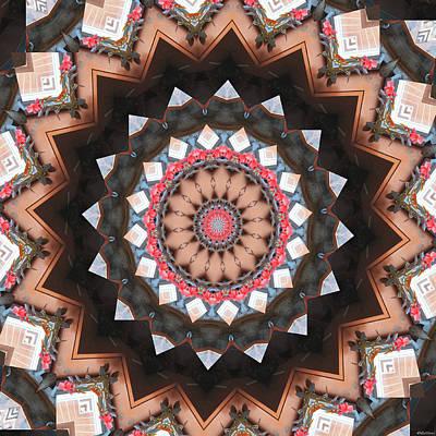 Surrealism Digital Art Rights Managed Images - Mandala #17 Royalty-Free Image by Listen LeeMarie