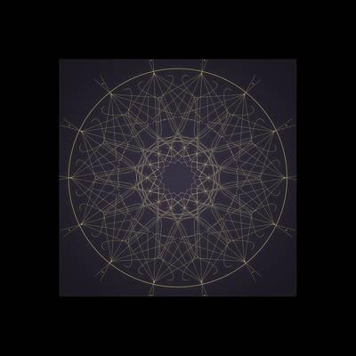 Digital Art - Mandala 2 by Riana Van Staden